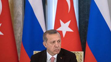 Встреча президентов России и Турции Владимира Путина и Реджепа Эрдогана в Санкт-Петербурге