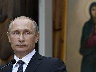 Рабочий визит президента РФ Владимира Путина в Словению