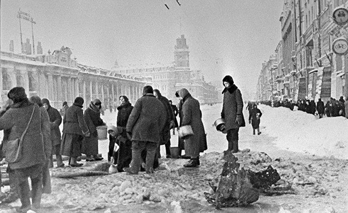 Сегодня 75 лет ссамого начала 900-дневной блокады Ленинграда— Санкт-Петербург