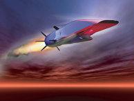 Гиперзвуковая крылатая ракета X-51A Waverider