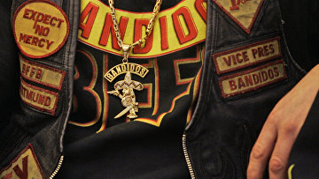 Куртка байкера из клуба Bandidos