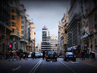 Дождливый Мадрид, Испания