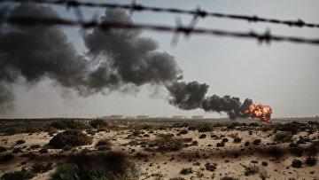 Сжигание отходов нефтяного производства в Ливии