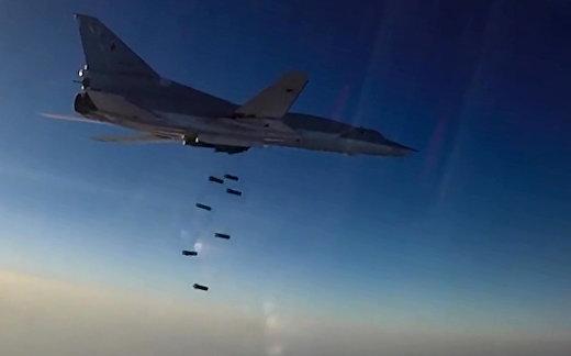 Российские ВКС бомбят ИГИЛ с авиабазы в Иране