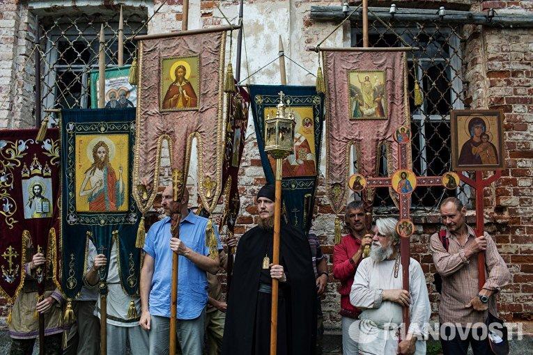 Иринарховский крестный ход. День третий