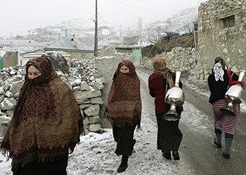 Высокогорное село Анди в Дагестане