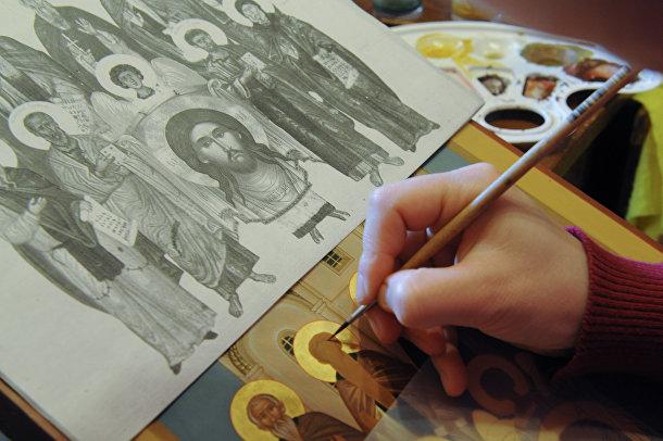 Иконописная школа в Троице-Сергиевой Лавре
