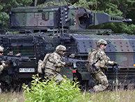 Боевая машина Puma во время учений в Нойштадте-ам-Рюбенберге