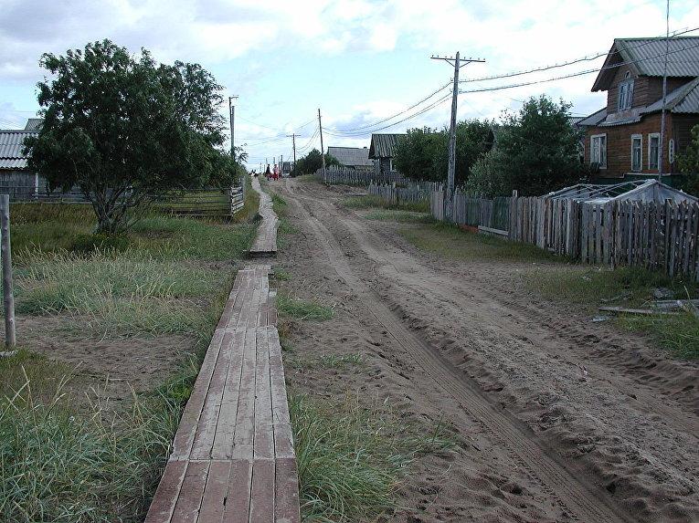 Село Кузомень Мурманской области