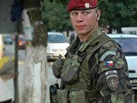 Чешский солдат