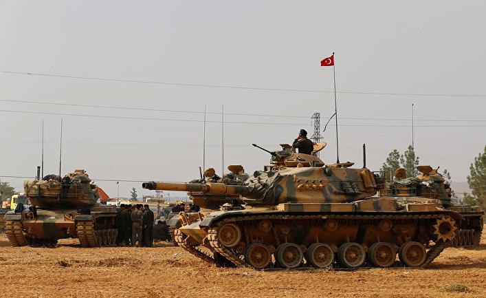 Турция освобождает отИГИЛ город насевере Сирии