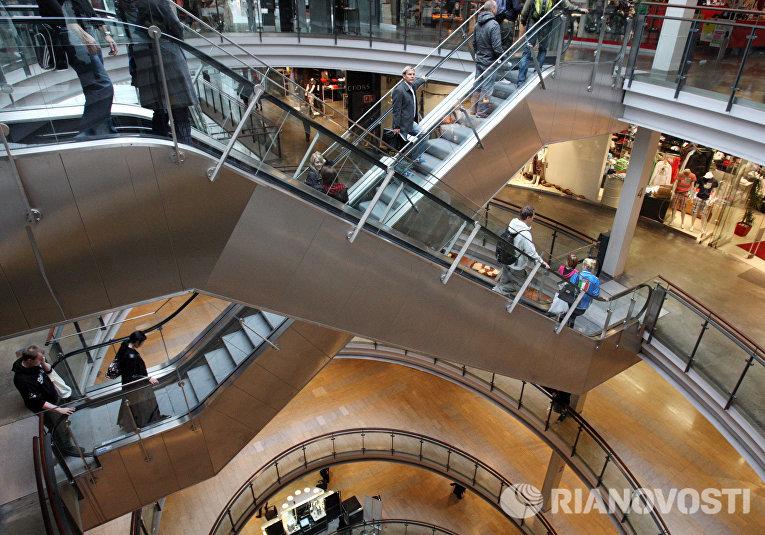 """Торговый комплекс """"Кампи"""" в Хельсинки"""