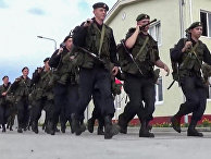 """Военнослужащие вооруженных сил РФ во время приведения в боевую готовность """"Полная"""""""