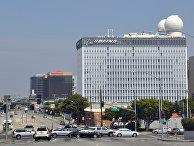 Здание компании Боинг (Boeing) в Лос-Анджелесе