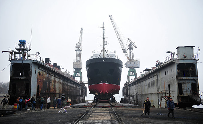 Строительство флота снова начнут с Петербурга