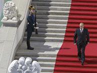 Церемония инаугурации Владимира Путина в 2004 году