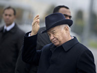 Президент Узбекистана Ислам Каримов в Самарканде
