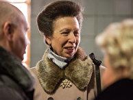 Британская принцесса Анна во время посещения Московского ипподрома побывала на занятиях по иппотерапии