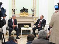 Встреча Владимира Путина с Биньямином Нетаньяху