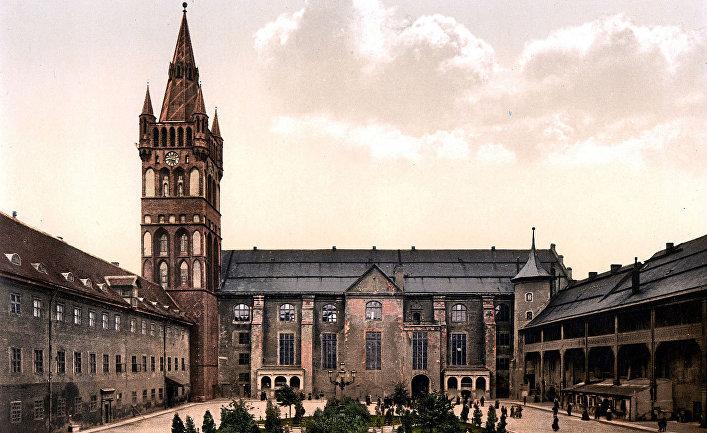 Замок Кёнигсберг, 1980-е годы