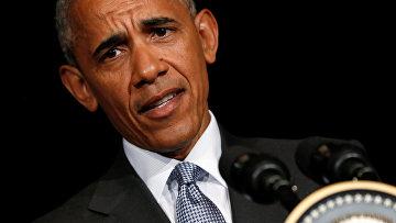 Президент США Барак Обама отвечает на вопросы журналистов