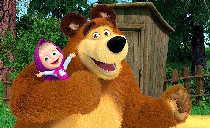 фотографии медведь и маша
