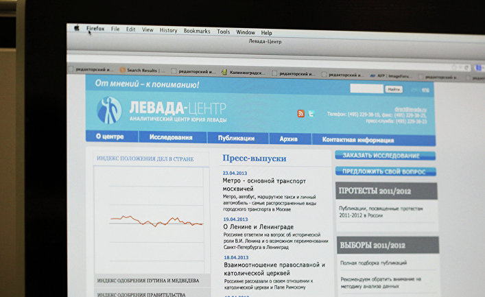 "Сайт ""Левада-центра"""