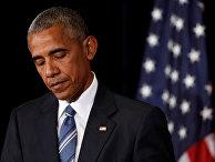 Президент США Барак Обама на саммите G20 в  Ханчжоу