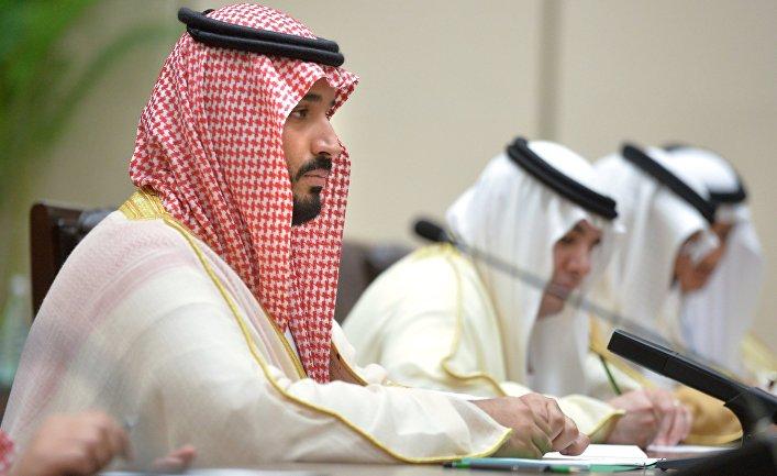 Заместитель наследного принца королевства Саудовская Аравия и министр обороны Мухаммад бин Салман Аль Сауд