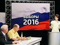 Предвыборные дебаты на калининградском телевидении ГТРК «Янтарь»