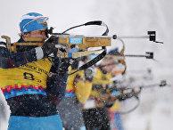 Зимняя юношеская Олимпиада - 2012. Лыжные гонки, биатлон. Смешанная эстафета