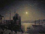 Иван Айвазовский «Лунная ночь на Босфоре» (1894)