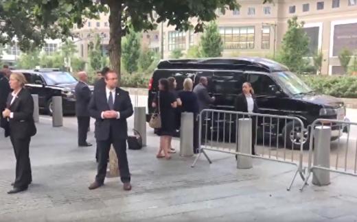 Клинтон потеряла сознание