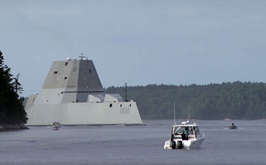 США спустили на воду корабль-призрак