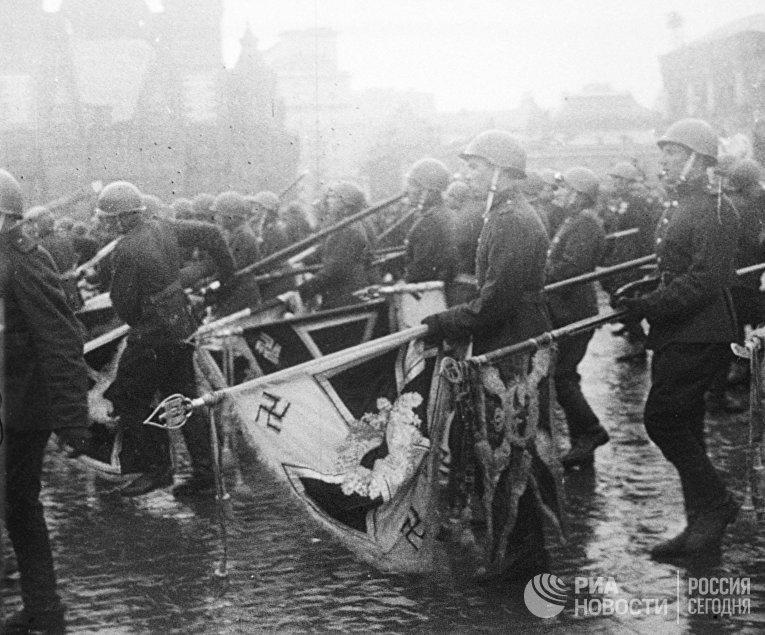 Парад Победы 24 июня 1945 года