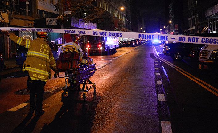 Взрыв наМанхэттене был спланированным актом— Мэр Нью-Йорка