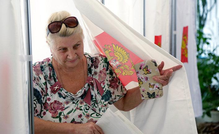 Выборы в Государственную думу РФвКрыму нелигитимны— МИД Украины
