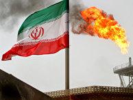 Нефтедобывающая платформа в Персидском заливе