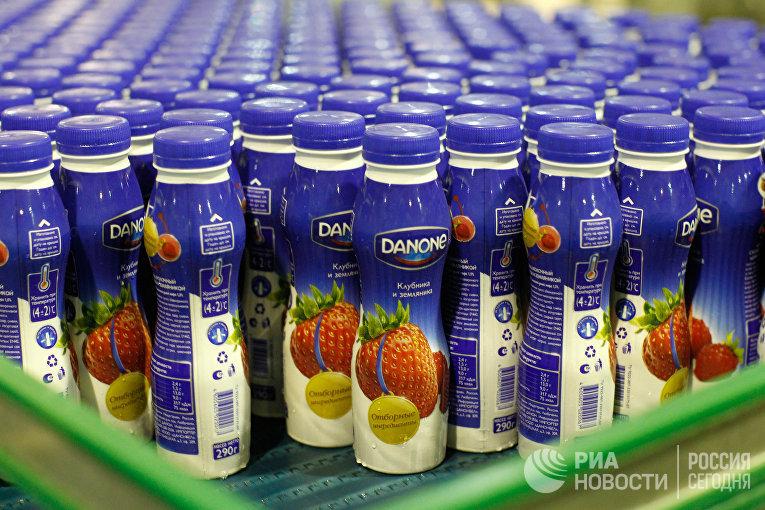 Работа завода Danone-Юнимилк в Московской области