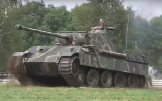 «Пантера» vs Т-34