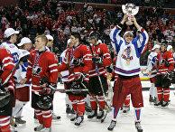 Молодежная сборная России по хоккею выиграла чемпионат мира