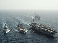 Авианосец ВМС США Dwight D. Eisenhower