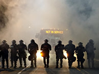 Протесты в Северной Каролине из-за убийства полицейским афроамериканца