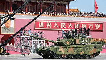 Основной боевой танк Type 99 A2 Народно-освободительной армии Китая
