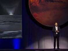 Глава SpaceX Илон Маск во время Международной астронавтической конференции