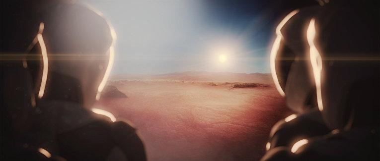 Полет на Марс по проекту компании SpaceX