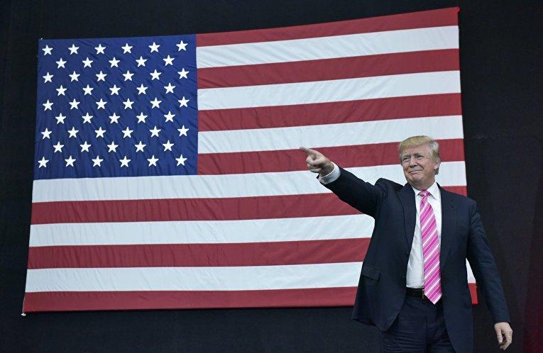 Кандидат в президенты США от Республиканской партии Дональд Трамп