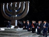 Церемония памяти жертв Бабьего Яра в Киеве