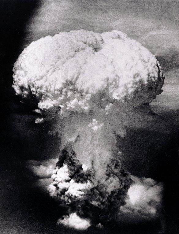 Ядерный гриб над Нагасаки
