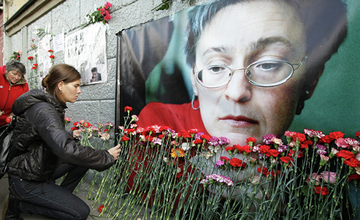 ВПетербурге почтят память убитой десять лет назад Анны Политковской